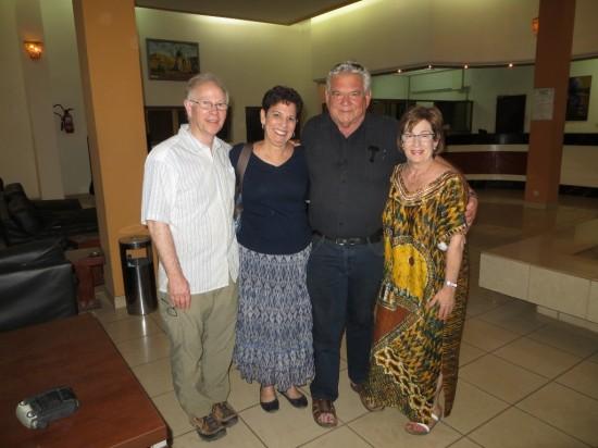 John, Helen, Dov and Robin