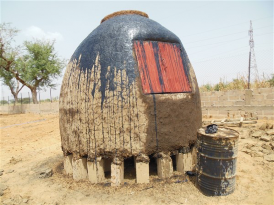 Photo of Onion Storage at the Leadership Garden
