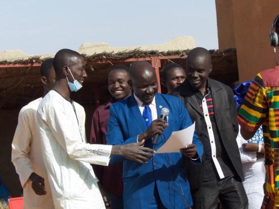 Hamani Djibo, President of LIBO