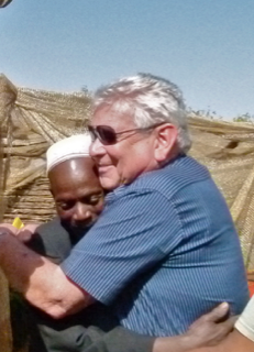 Image of Dov Pasternak in Africa